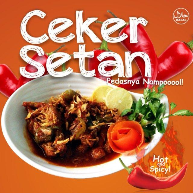 Ceker Setan Khas Bandung